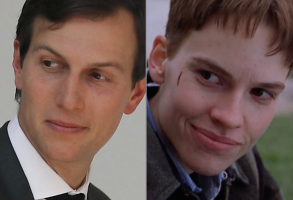 Jared Kushner Hilary Swank