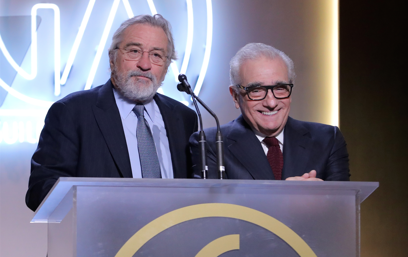 Martin Scorsese and Robert De Niro