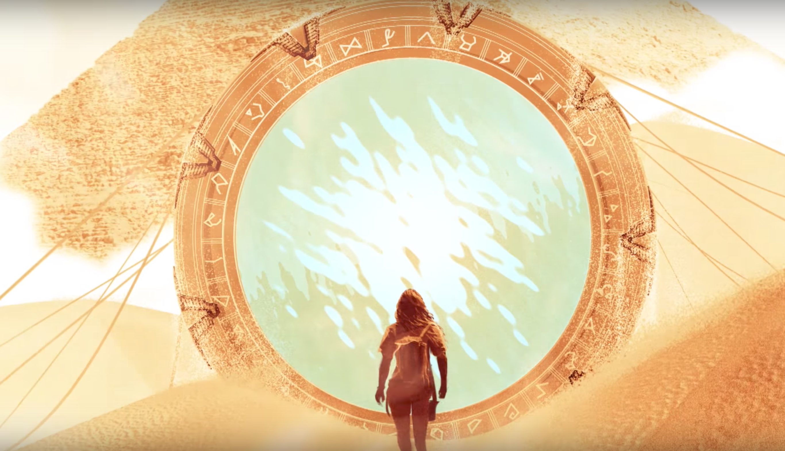 Stargate returns with a new web-only prequel show called Stargate Origins