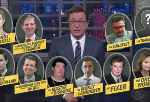 Stephen Colbert Donald Trump Jr.