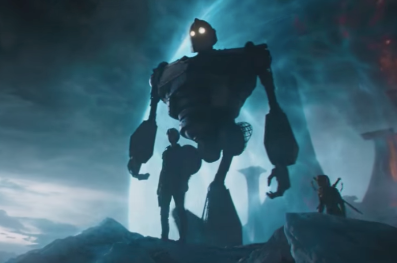 Anime Characters In Ready Player One : Ready player one will feature the iron giant and people are