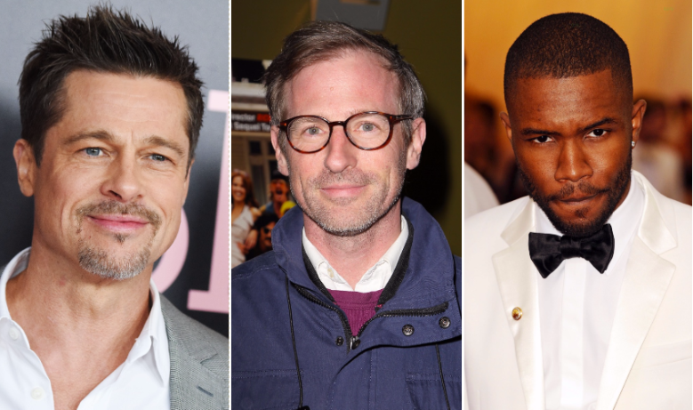 Brad Pitt, Spike Jonze, and Frank Ocean