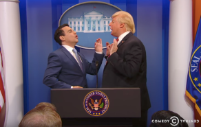 Mario Cantone as Anthony Scaramucci on The President Show