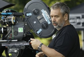 Luc Besson directing The Family