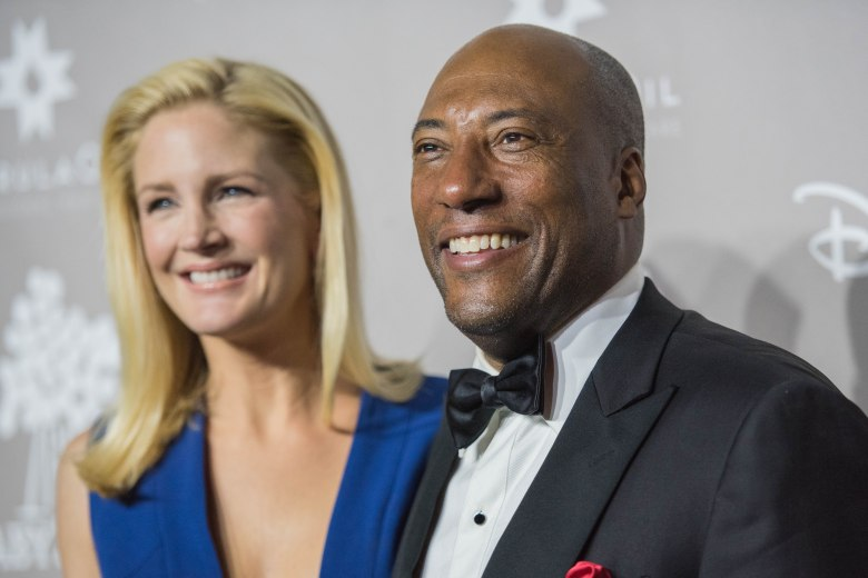 Jennifer Lucas and Byron Allen