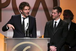 David Benioff and D.B. Weiss27th Annual Producers Guild Awards, Show, Los Angeles, America - 23 Jan 2016