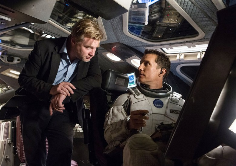 """Intersteller,"" Christopher Nolan and Matthew McConaughey"