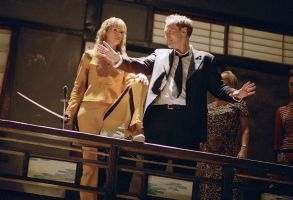 Uma Thurman Quentin Tarantino Kill Bill