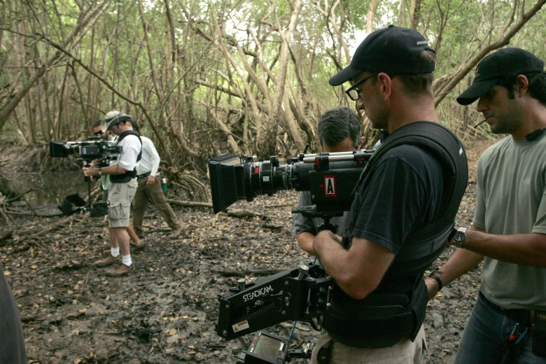"""Soderbergh shooting """"Che: Part 1 and 2"""""""
