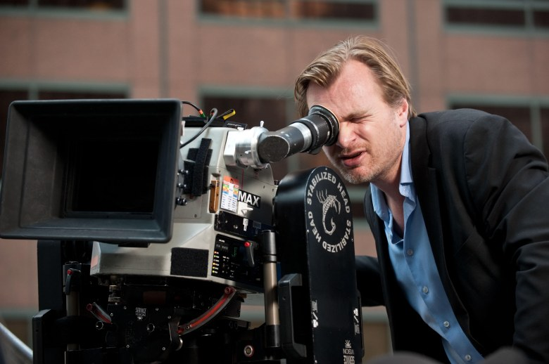 "Christopher Nolan shooting ""The Dark Knight Rises"""