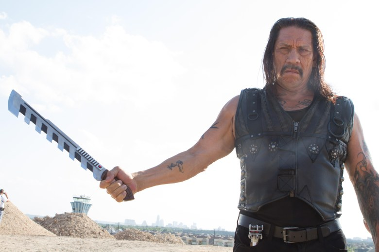 No Merchandising. Editorial Use Only. No Book Cover Usage.Mandatory Credit: Photo by Aldamisa Entertainment/Kobal/REX/Shutterstock (5886132bp) Danny Trejo Machete Kills - 2013 Director: Robert Rodriguez Aldamisa Entertainment USA/RUSSIA Scene Still