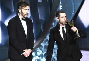 David Benioff and D. B. Weiss68th Primetime Emmy Awards, Show, Los Angeles, USA - 18 Sep 2016