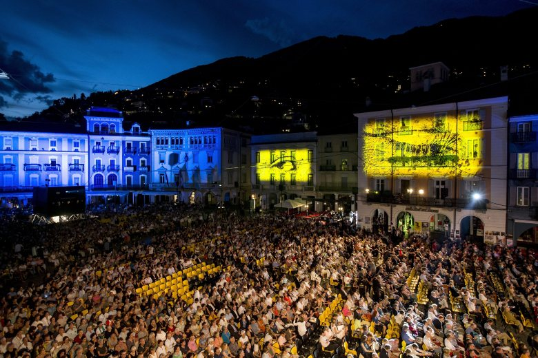 General View of the Piazza Grande Square During the 69th Locarno International Film Festival in Locarno Switzerland 08 August 2016 the Festival Del Film Locarno Runs From 03 to 13 August Switzerland Schweiz Suisse LocarnoSwitzerland Cinema Locarno Film Festival - Aug 2016