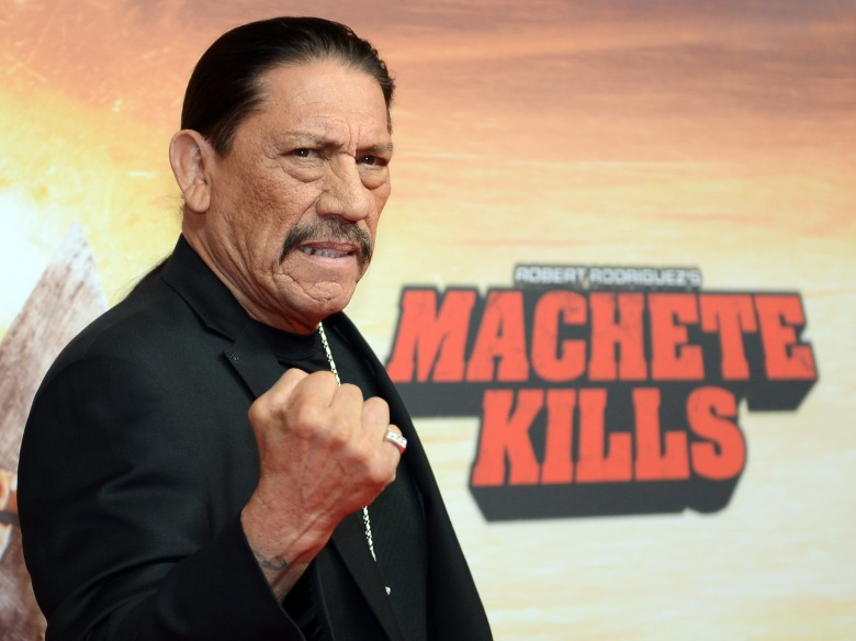GERMANY OUTMandatory Credit: Photo by Britta Pedersen/Epa/REX/Shutterstock (8223385b)Us Actor/cast Member Danny Trejo Poses Prior the Premiere of the Movie 'Machete Kills' in Berlin Germany 30 October 2013 the Film Will Be Released Across German Cinemas on 19 December Germany BerlinGermany Cinema - Oct 2013