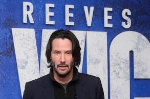 Keanu Reeves John Wick 2 premiere