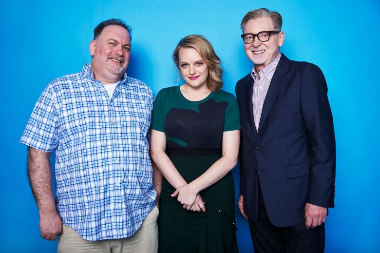 Bruce Miller, Elisabeth Moss and Warren LittlefieldThe Contenders Emmys, presented by Deadline, Photo Studio, Los Angeles, USA - 09 Apr 2017