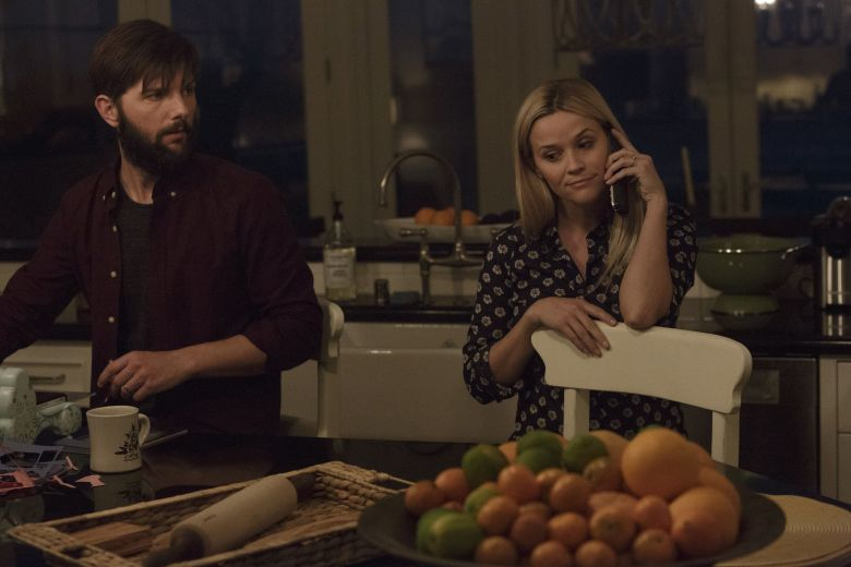 "No Merchandising. Editorial Use Only. No Book Cover UsageMandatory Credit: Photo by HBO/Kobal/REX/Shutterstock (8600459a)Adam Scott, Reese Witherspoon""Big Little Lies"" TV series - 2017"