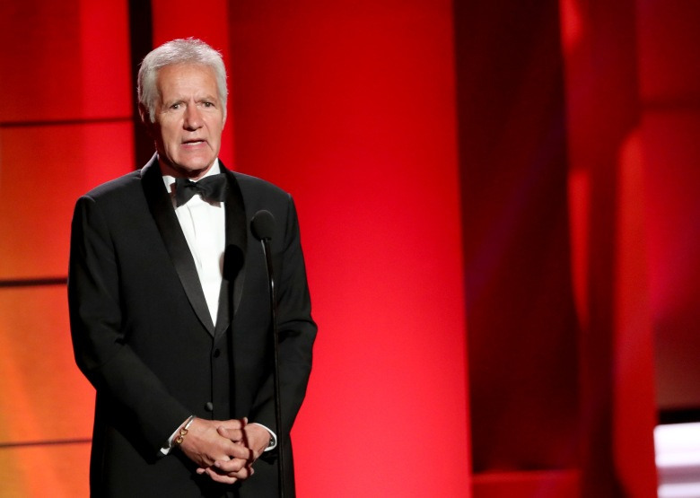 Alex Trebek Daytime Emmy Awards