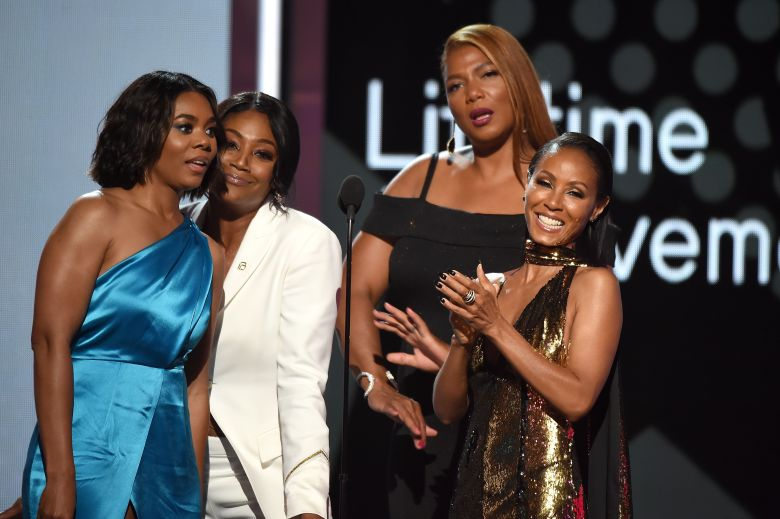 Regina Hall Tiffany Haddish Queen Latifa And Jada Pinkett Smith BET Awards Show