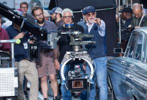 Steven Spielberg'The Papers' on set filming, New York, USA - 11 Jul 2017