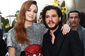 Sophie Turner and Kit Harington'Game of Thrones' TV show premiere, Arrivals, Los Angeles, USA - 12 Jul 2017