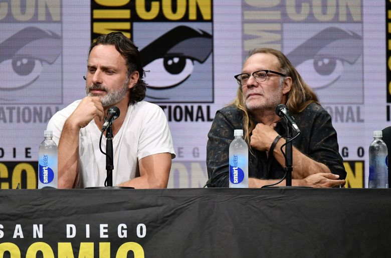 Andrew Lincoln and Greg Nicotero'The Walking Dead' TV show panel, Comic-Con International, San Diego, USA - 21 Jul 2017