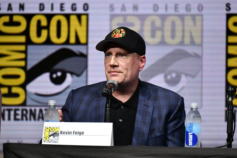 Kevin FeigeMarvel Studios panel, Comic-Con International, San Diego, USA - 22 Jul 2017
