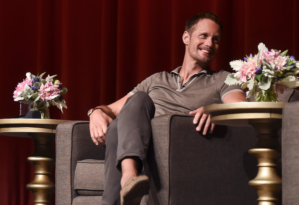 Alexander Skarsgard'Big Little Lies' TV show screening, Panel, Los Angeles, USA - 25 Jul 2017