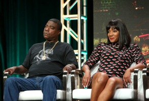 Tracy Morgan and Tiffany HaddishTurner Networks 'The Last O.G.' TV show panel, TCA Summer Press Tour, Los Angeles, USA - 27 Jul 2017