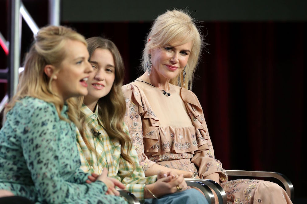 Elisabeth Moss, Alice Englert and Nicole Kidman SundanceTV 'Top of the Lake: China Girl' TV show panel, TCA Summer Press Tour, Los Angeles, USA - 29 Jul 2017