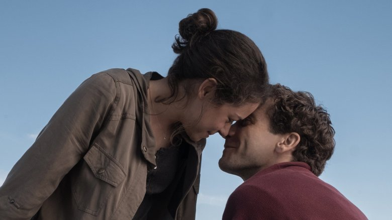 "Tatiana Maslanay and Jake Gyllenhaal in ""Stronger"""