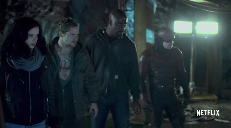 'The Defenders' Comic-Con Trailer: Marvel Netflix Team-Up ...