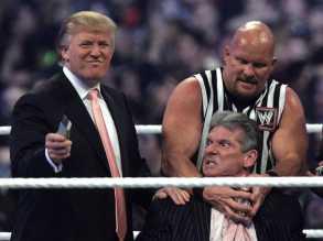 Donald Trump WWE