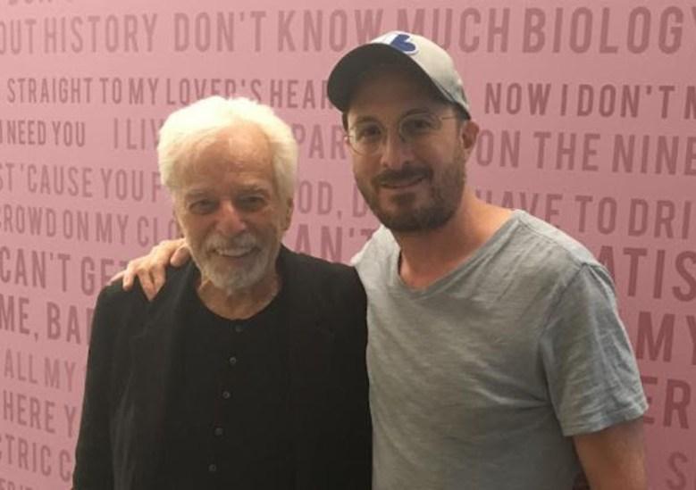 Alejandro Jodorowsky and Darren Aronofsky