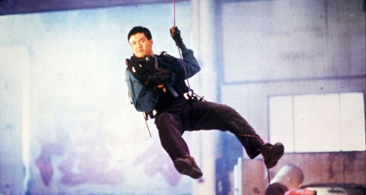 "Chow Yun-fat in John Woo's ""Hard Boiled"""