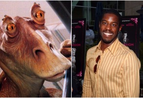 Jar Jar Binks Ahmed Best star wars