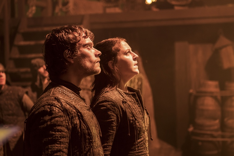 "Alfie Allen and Gemma Whelan, ""Game of Thrones"""