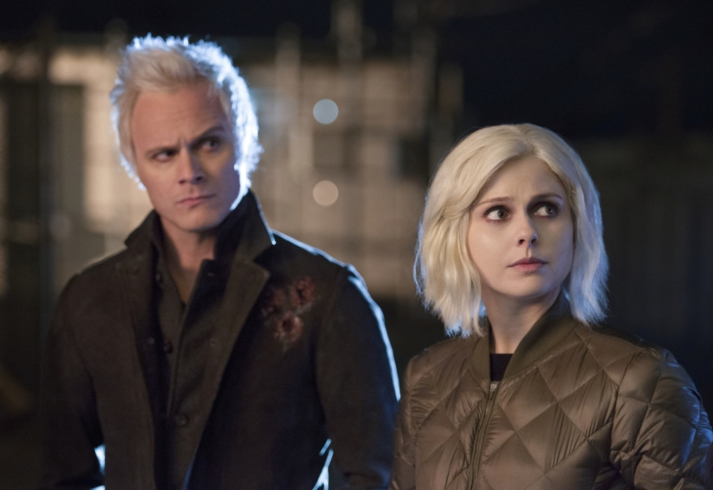 "David Anders and Rose McIver, ""iZombie"""