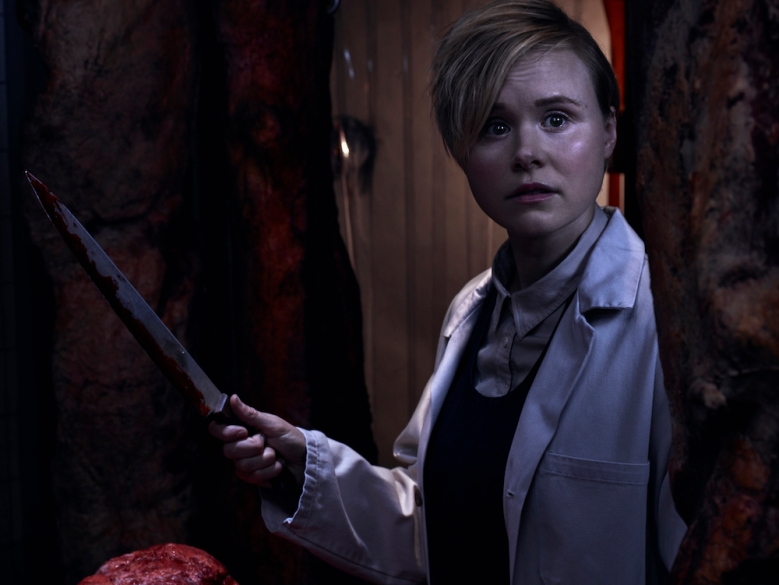 AMERICAN HORROR STORY: CULT -- Pictured: Alison Pill as Ivy Mayfair-Richards. CR: Frank Ockenfels/FX