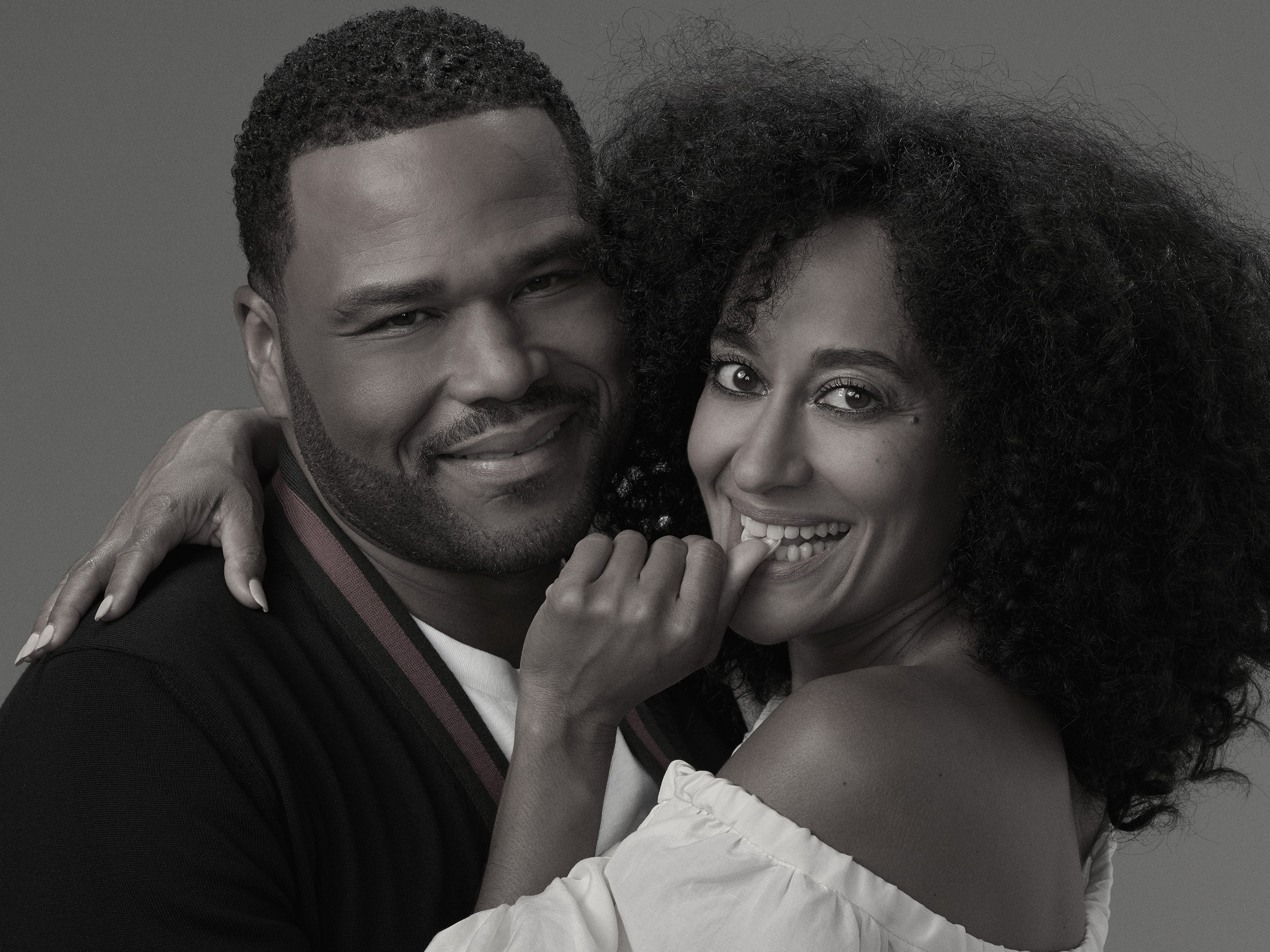 Traci Young Byron Wedding.Black Ish Stars Discuss Dre And Bow S Troubled Marriage