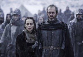 Stephen Dillane as Stannis Baratheon on Game of Thrones