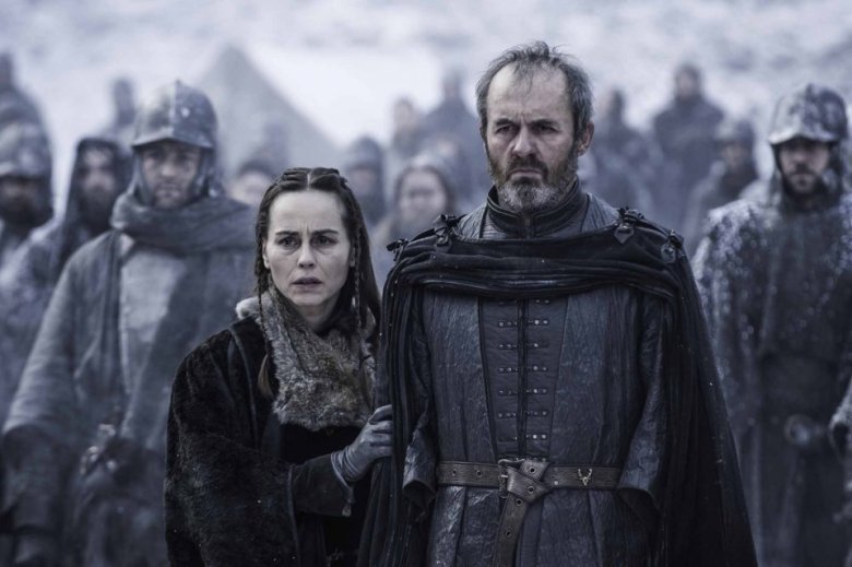 Stephen Dillane as Stannis Baratheon on Game of Thrones