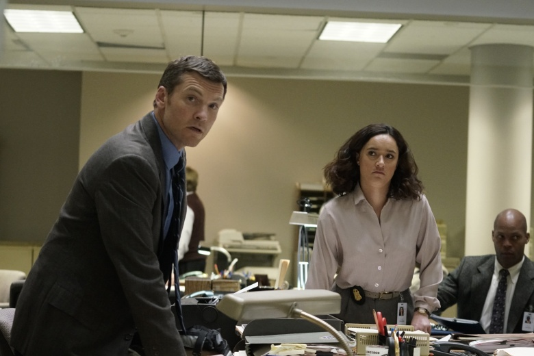 Sam Worthington as Jim Fitzgerald and Keisha Castle-Hughes as Tabby Milgrim.