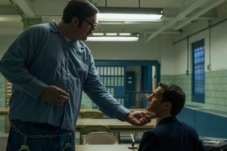MINDHUNTER Episode 3 Netflix Cameron Britton, Jonathan Groff