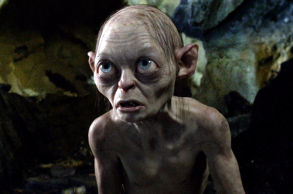 Andy Serkis as Gollum in The Lord of the Rings