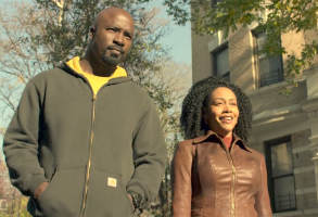 "Mike Colter and Simone Missick, ""The Defenders"""