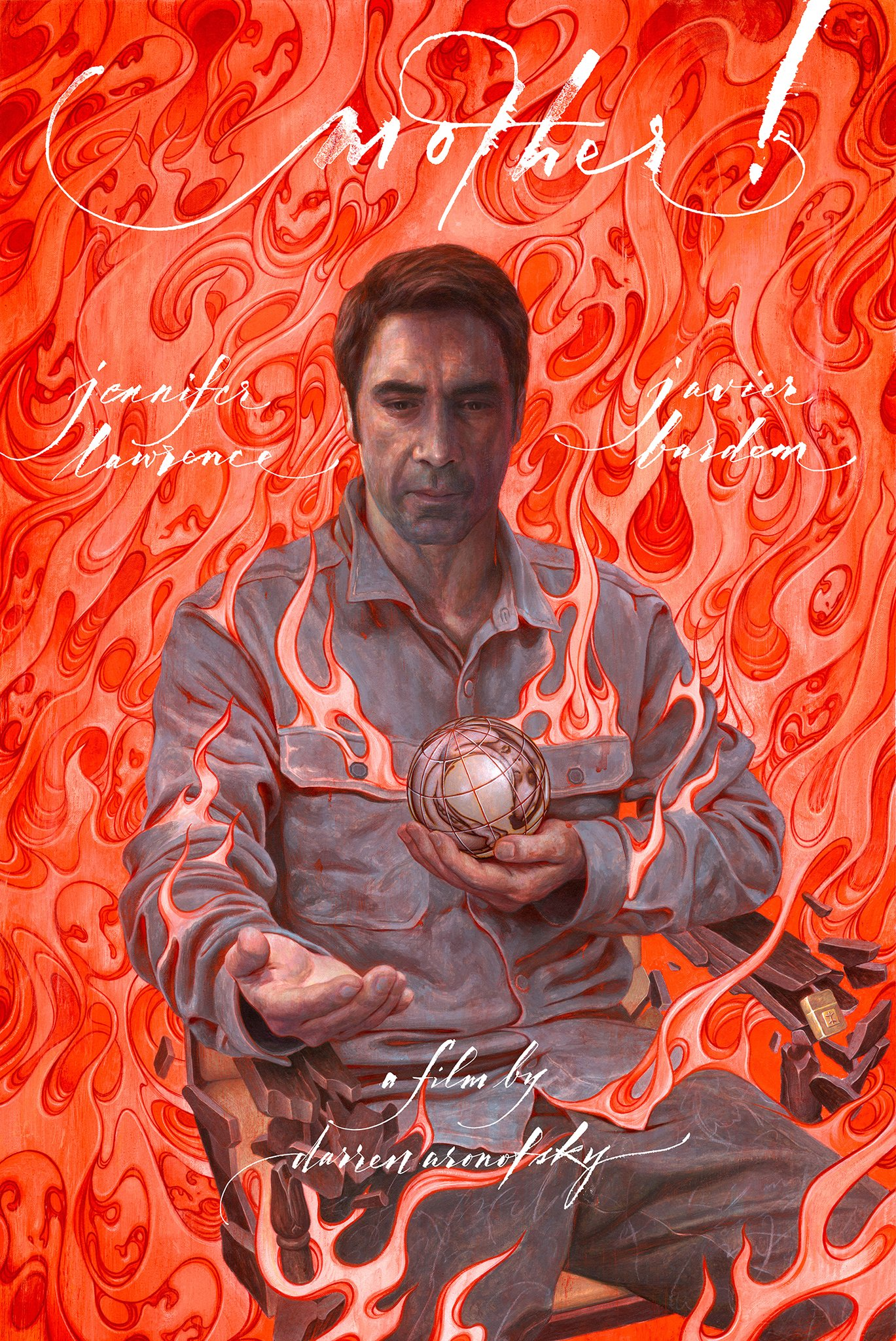 'mother!' Poster Details: Jennifer Lawrence and Javier Bardem | IndieWire