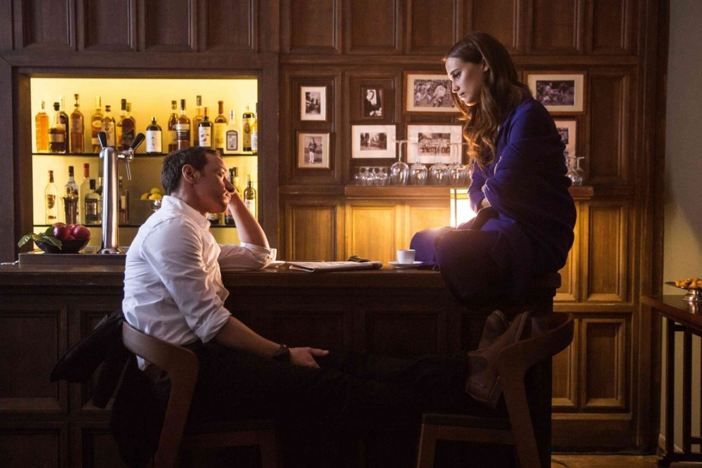 "Alicia Vikander and James McAvoy, ""Submergence"""