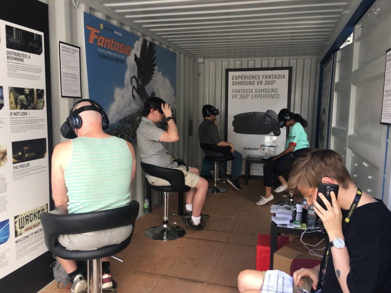 VR at The Fantasia Film Festival