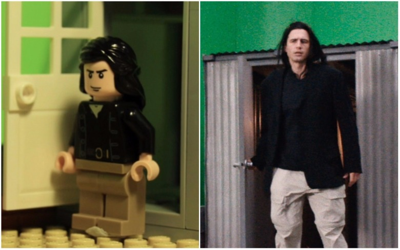 james franco a24 disaster artist lego